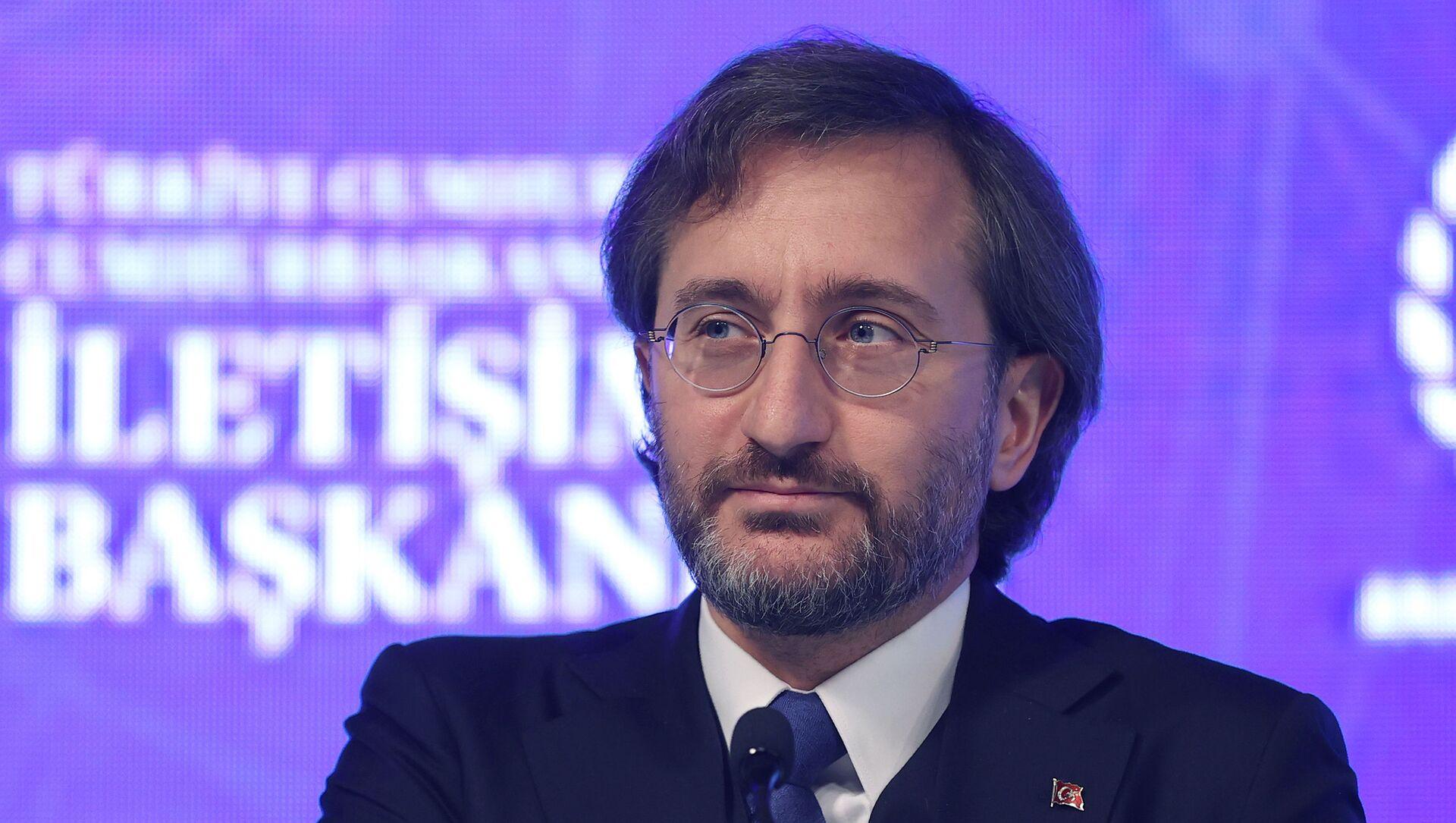 Fahrettin Altun - DijitalDünyaÇalıştayı - Sputnik Türkiye, 1920, 29.07.2021