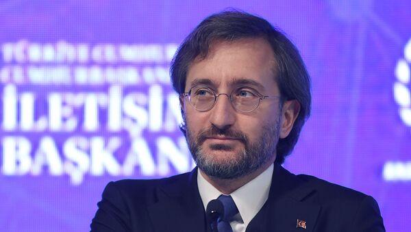 Fahrettin Altun - DijitalDünyaÇalıştayı - Sputnik Türkiye
