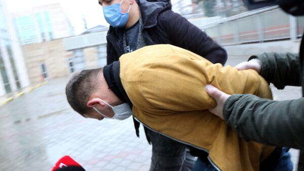 Samsun'da kadına şiddet  - Sputnik Türkiye