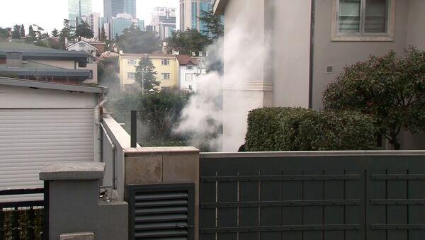 Cem Yılmaz'ın evi yangın - Sputnik Türkiye
