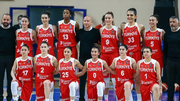 A Milli Kadın Basketbol Takımı, FIBA 2021 Avrupa Kadınlar Basketbol Şampiyonası  - Sputnik Türkiye