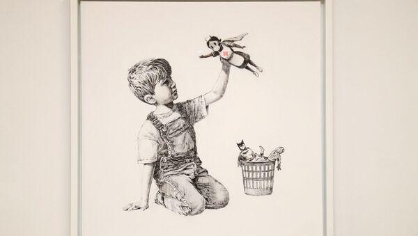 Banksy - Game Changer - Sputnik Türkiye