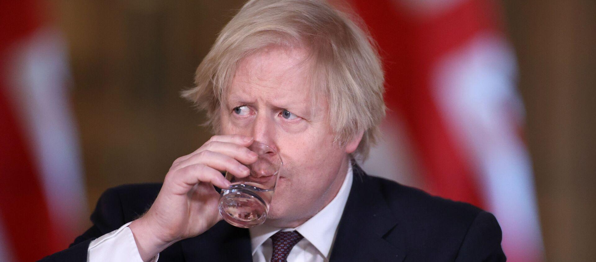 İngiltere Başbakanı Boris Johnson - Sputnik Türkiye, 1920, 14.05.2021