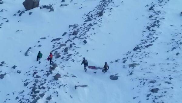 Hasan Dağı'nda mahsur kalan 2 kadın dağcı - Sputnik Türkiye