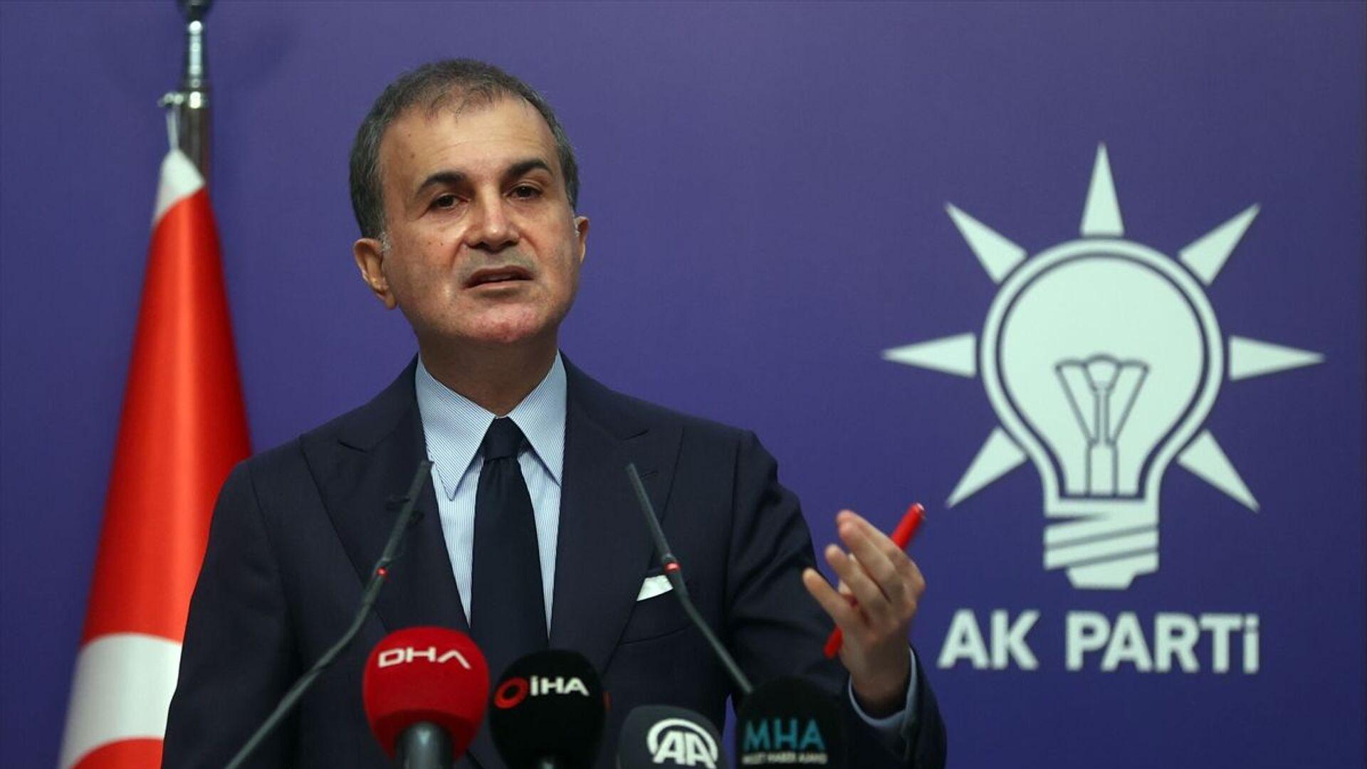 AK Parti Sözcüsü Ömer Çelik - Sputnik Türkiye, 1920, 09.08.2021