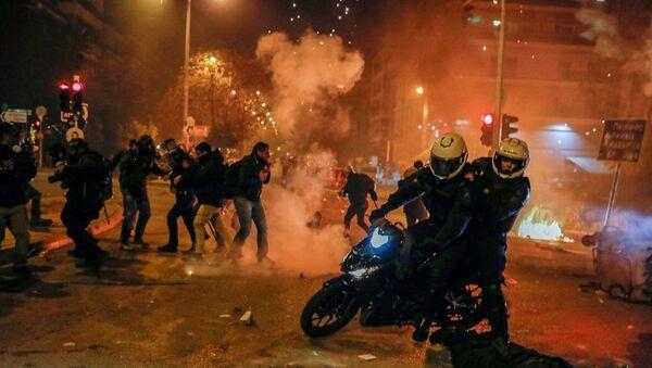 Atina-protesto - Sputnik Türkiye