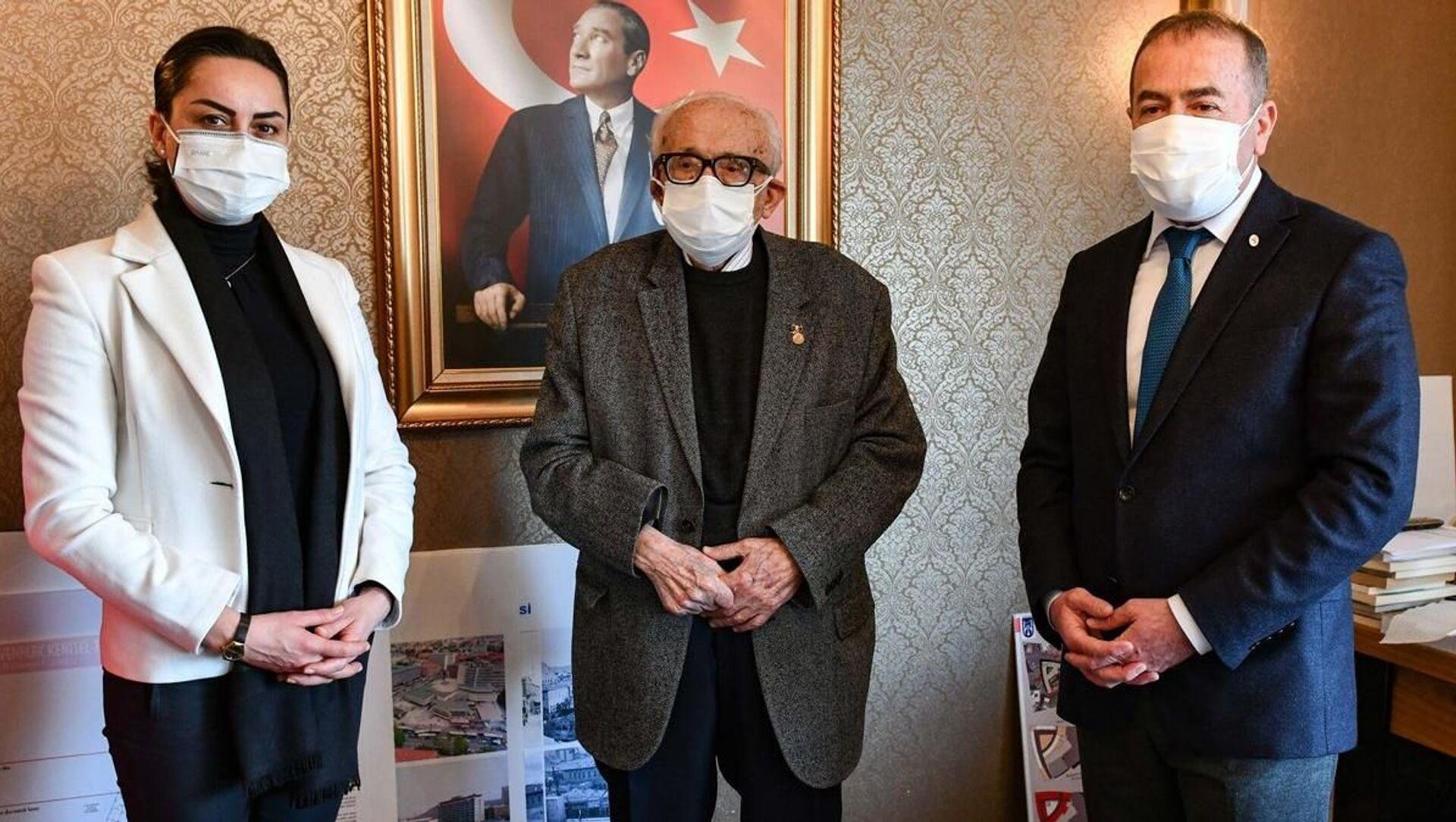 Hanri Benazus - Sputnik Türkiye, 1920, 10.03.2021