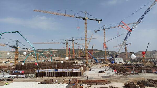 Akkuyu Nükleer Güç Santrali Üçüncü Ünitesi  - Sputnik Türkiye