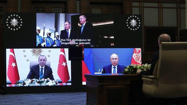 Akkuyu Nükleer Güç Santrali'nin Üçüncü Ünitesinin Temel Atma Töreni - Sputnik Türkiye