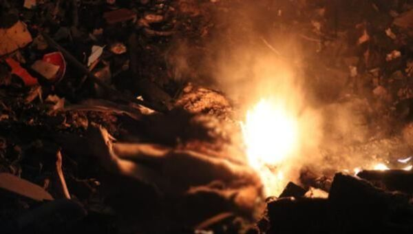 Ankara'nın Gölbaşı ilçesinde yakılmış köpek cesedi bulundu. Olayın görgü şahidi vatandaş ise daha önce de bu bölgede yakılmış köpekleri gördüğü ve 3 gündür arazide ateş yakıldığını söyledi. - Sputnik Türkiye