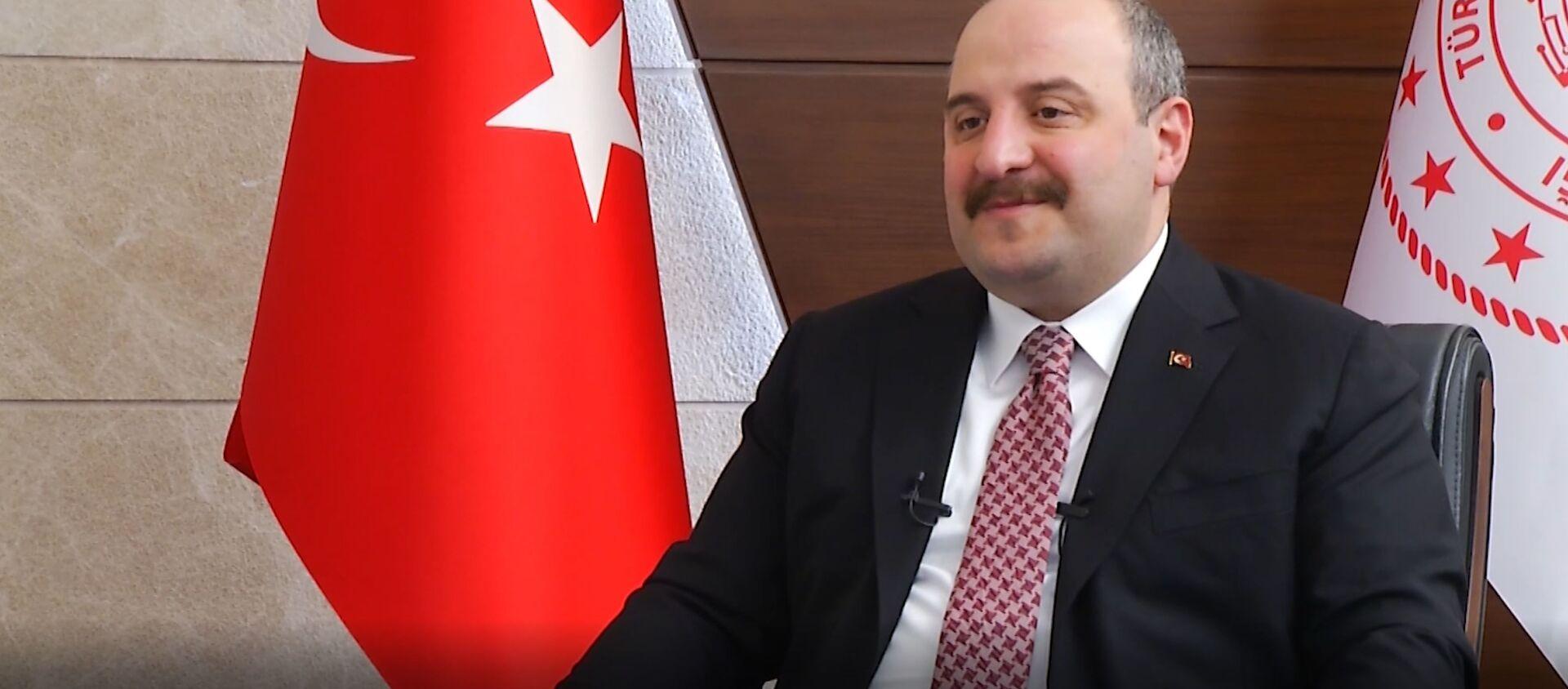 Sanayi ve Teknoloji Bakanı Mustafa Varank: Artık Türkiye'ye tersine beyin göçü var diyebiliriz - Sputnik Türkiye, 1920, 11.03.2021