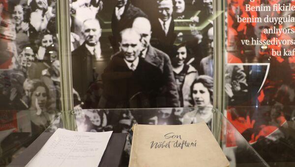Atatürk'ün sağlık raporları anestezi tarihi sergisinde - Sputnik Türkiye