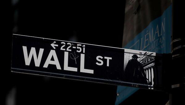 New York borsası - Wall Street - Sputnik Türkiye