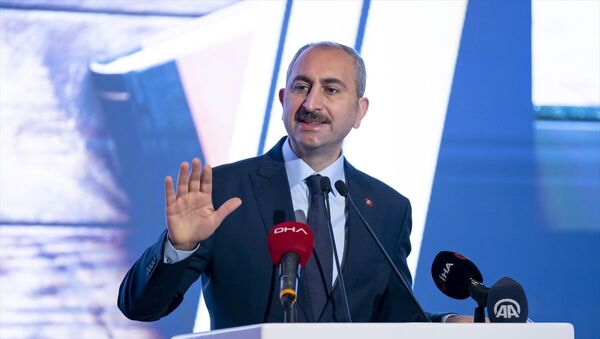 Abdulhamit Gül / Adli Yargı Hakim ve Cumhuriyet Savcıları ile İdari Yargı Hakimlerinin Kura Töreni - Sputnik Türkiye