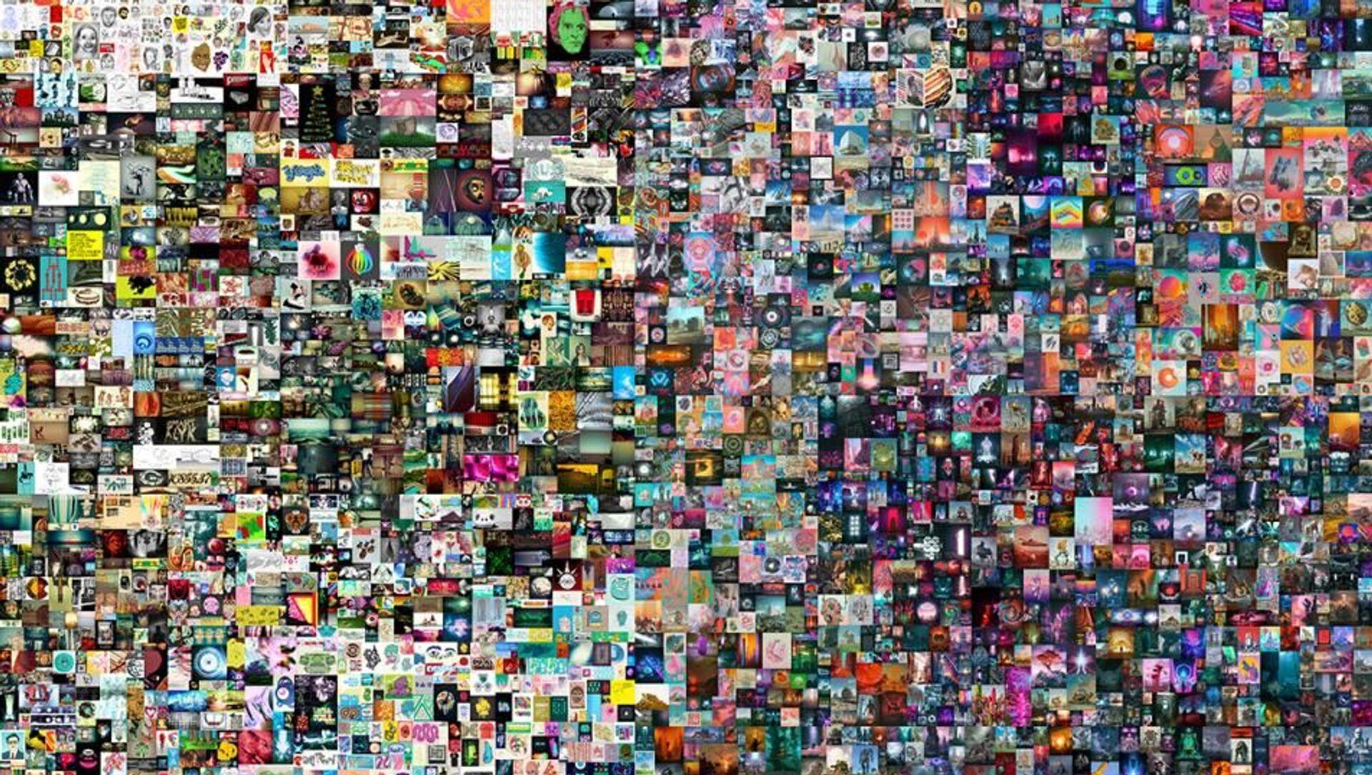 Dijital eserin jpg dosyası 69 milyon dolara satıldı - Sputnik Türkiye, 1920, 02.04.2021