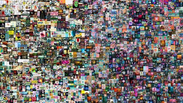 Dijital eserin jpg dosyası 69 milyon dolara satıldı - Sputnik Türkiye