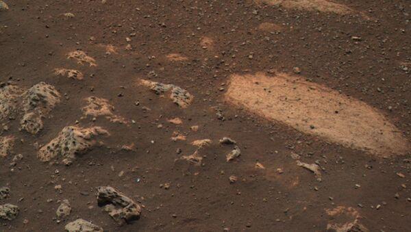 NASA, Perseverance'ın Mars'a iniş anına ait yeni görüntü yayınladı - Sputnik Türkiye