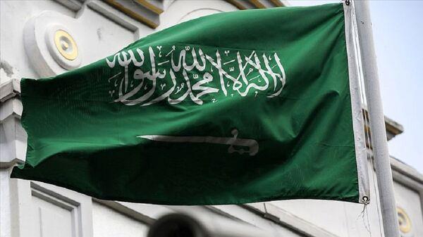 Suudi Arabistan bayrak - Sputnik Türkiye