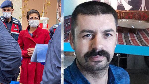 İşkenceci eşini öldüren Melek İpek ilk kez hakim karşısında - Sputnik Türkiye