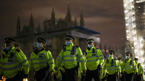 İngiltere - Londra - Sarah Everard - protesto - Sputnik Türkiye