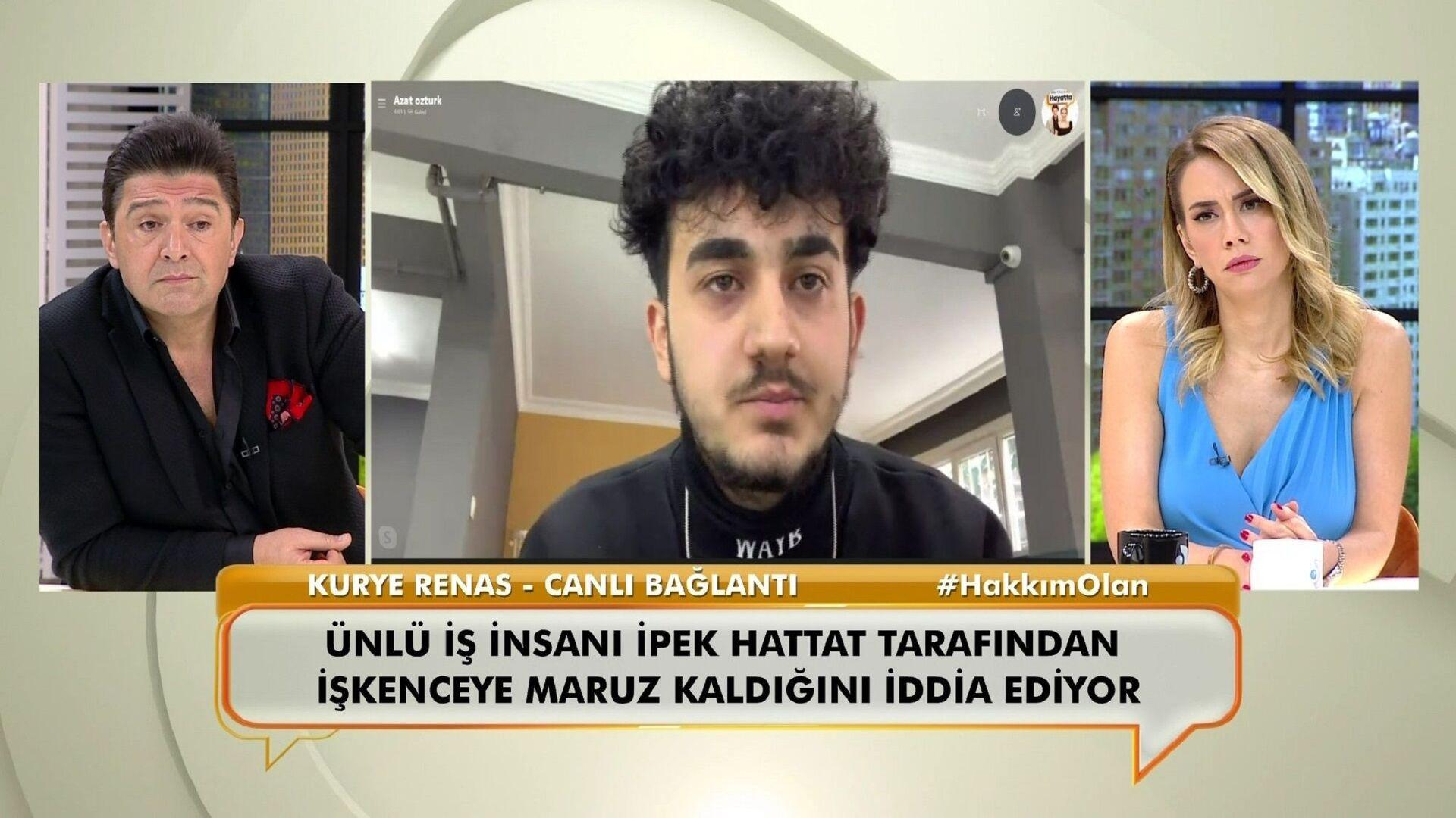 Kuryeye işkence yaptığı iddia edilen iş insanı İpek Hattat hakkında 32 yıl hapis cezası istendi - Sputnik Türkiye, 1920, 16.03.2021