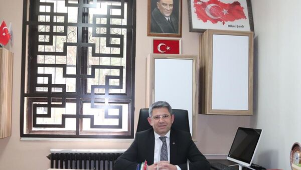 Türk Diyanet Vakıf-Sen Bursa Şube Başkanı Hilmi Şanlı - Sputnik Türkiye