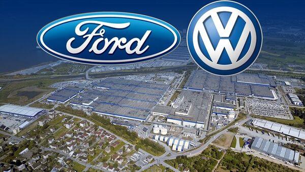 Ford - Volkswagen, ortak üretim anlaşması - Sputnik Türkiye