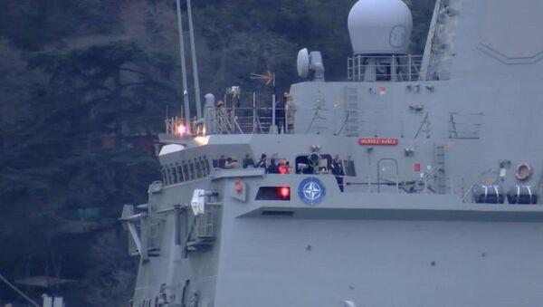 İspanya Deniz Kuvvetleri'ne ait Mendez Nunez - Sputnik Türkiye