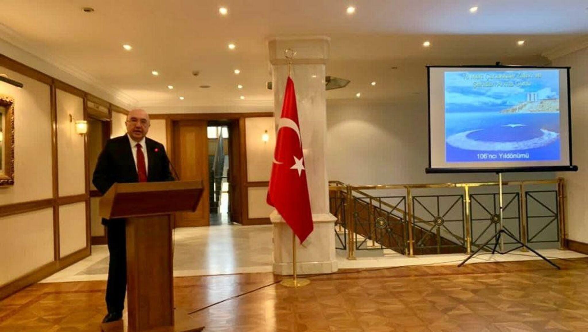 Rusya'da 18 Mart Çanakkale Zaferi ve Şehitleri Anma Günü töreni düzenlendi - Sputnik Türkiye, 1920, 18.03.2021