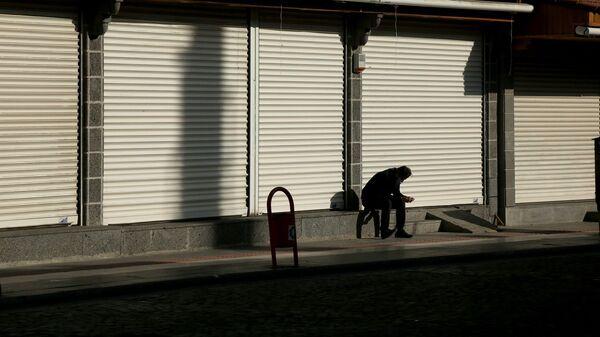 İşsizlik - kepenek – dükkan – kapalı dükkanlar – kepenk indirme - Sputnik Türkiye