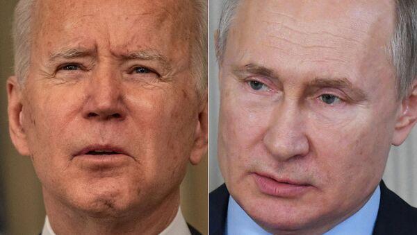 Joe Biden- Vladimir Putin  - Sputnik Türkiye