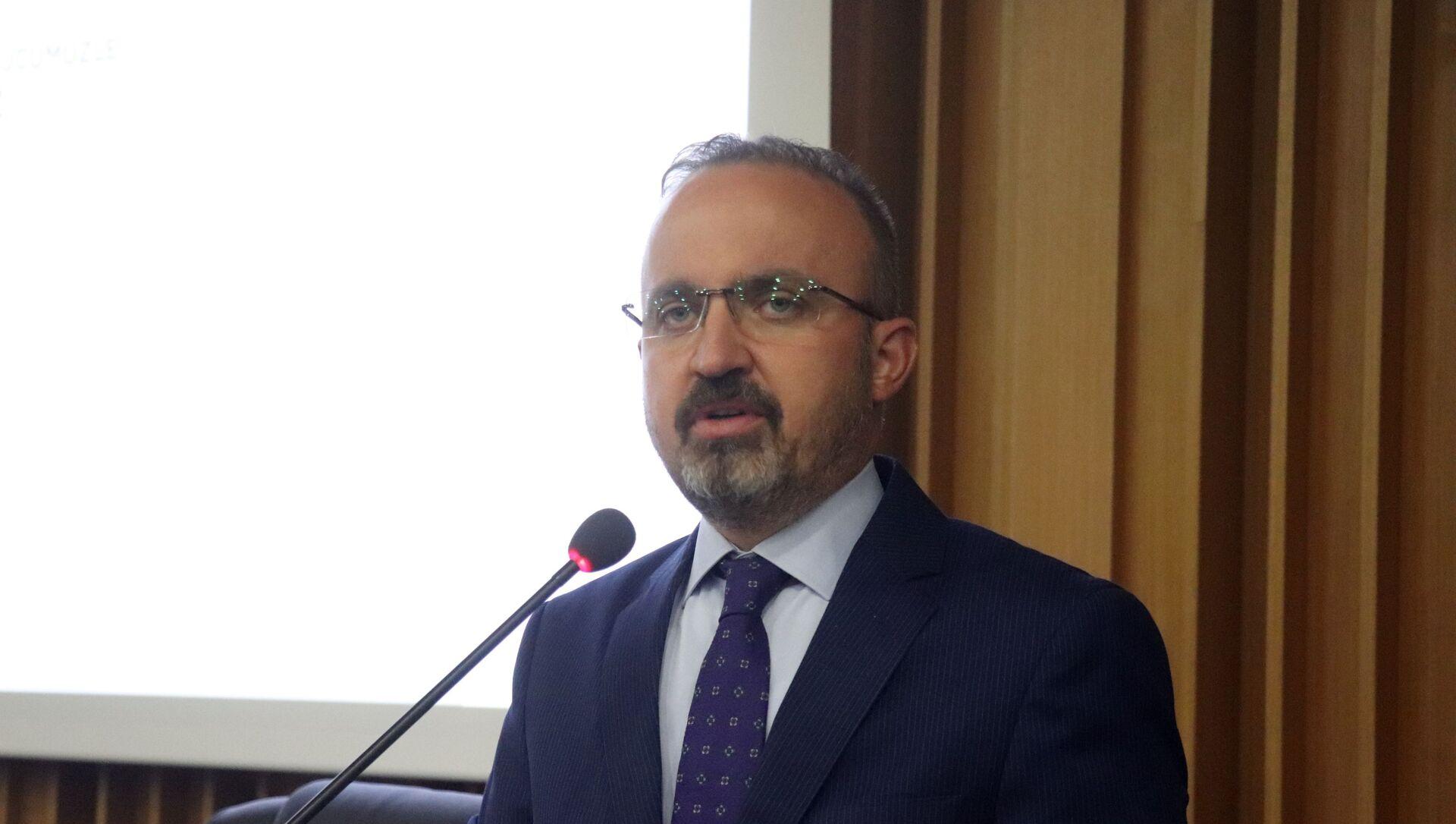 AK Parti Grup Başkanvekili ve Çanakkale Milletvekili Bülent Turan - Sputnik Türkiye, 1920, 19.03.2021