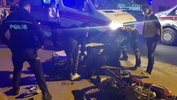 Antalya'nın Alanya ilçesinde cezaevinden yeni tip koronavirüs (Kovid-19) önlemleri kapsamında izinli olarak çıkan hükümlü, biri eşi, 2 kişiyi silahla yaraladı. - Sputnik Türkiye