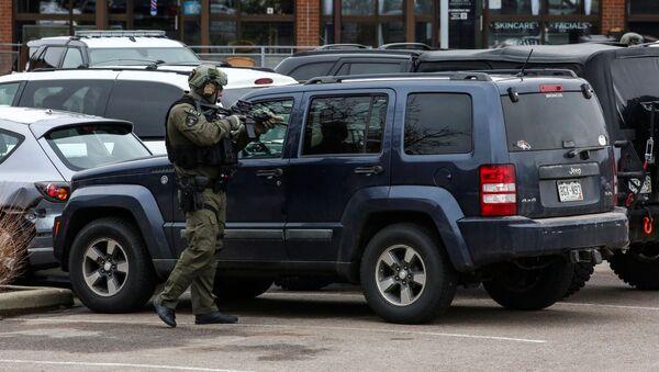 ABD - Colorado - silahlı saldırı - polis - Sputnik Türkiye
