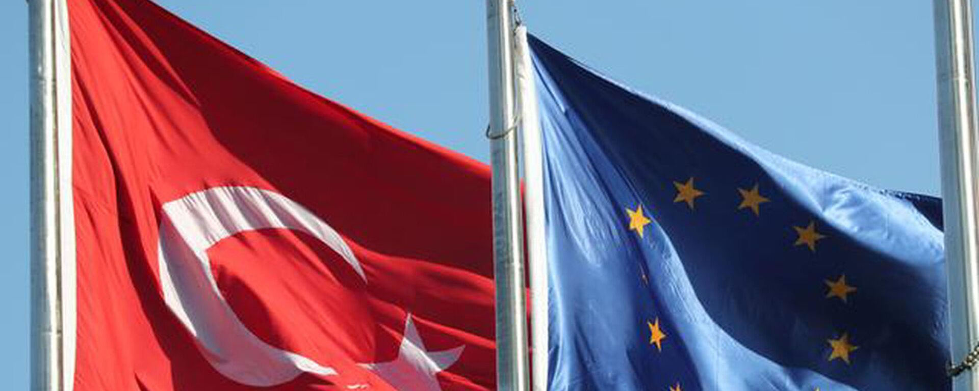 AB Türkiye bayrakları - Sputnik Türkiye, 1920, 23.03.2021