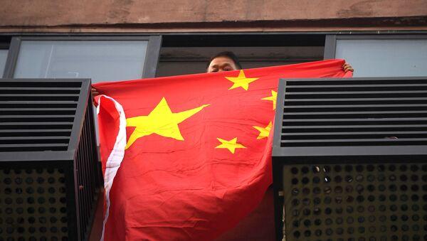Çin bayrağı  - Sputnik Türkiye