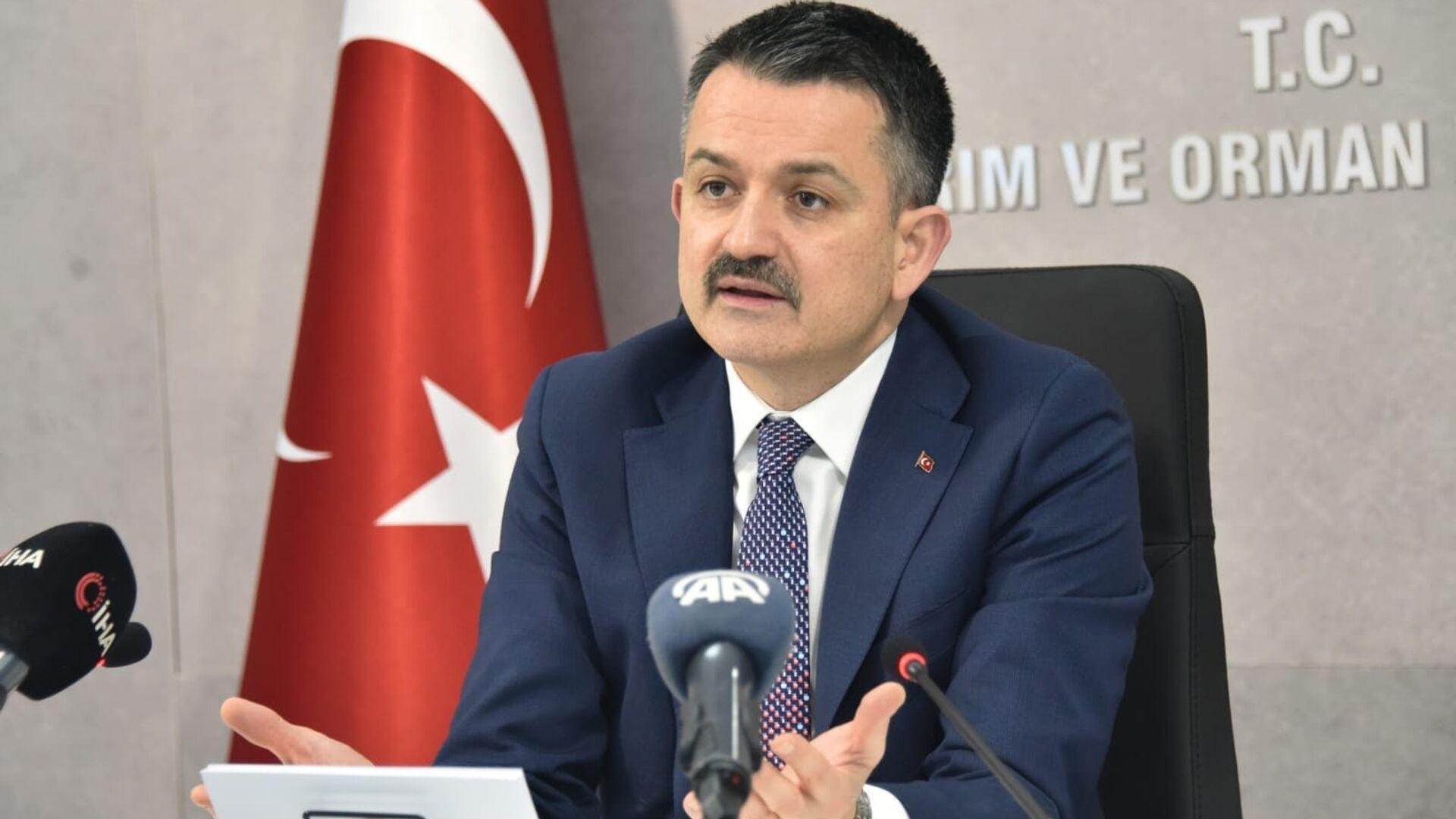 Tarım ve Orman Bakanı BekirPakdemirli - Sputnik Türkiye, 1920, 04.09.2021