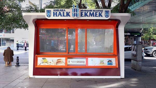 Ankara Halk Ekmek büfesi - Sputnik Türkiye