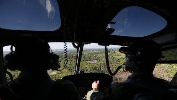 Uruguay'da Kovid-19 aşılarını taşıyan askeri helikopter düştü - Sputnik Türkiye