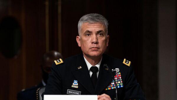 ABD Ulusal Güvenlik Ajansı Direktörü ve Siber Kuvvetler Komutanı Orgeneral Paul M. Nakasone - Sputnik Türkiye
