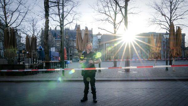 Hollanda polisi - Sputnik Türkiye