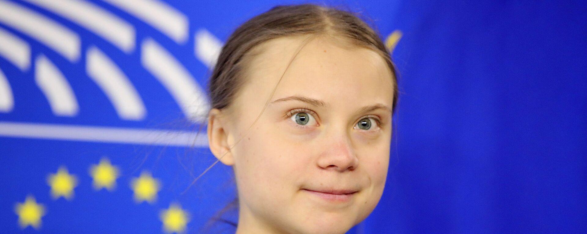 Greta Thunberg - Sputnik Türkiye, 1920, 23.04.2021