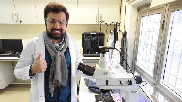 Öte gezegen keşfeden Gaziantep Üniversitesi doktora öğrencisi Kaan Kaplan - Sputnik Türkiye