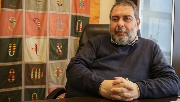 AGOS Gazetesi Genel Yayın Yönetmeni Yetvart Danzikyan - Sputnik Türkiye