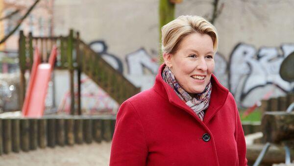 Almanya Aile Bakanı Franziska Giffey - Sputnik Türkiye