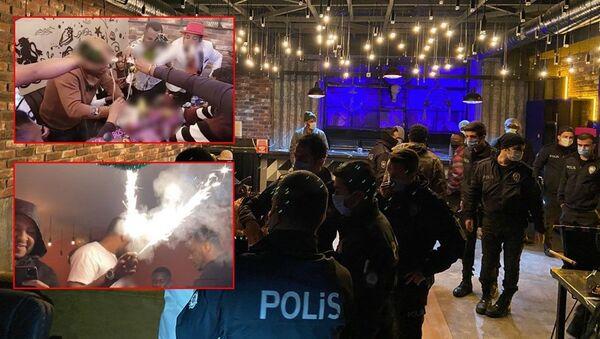 Esenyurt'ta Afrikalıların koronavirüs partisine polis baskını - Sputnik Türkiye
