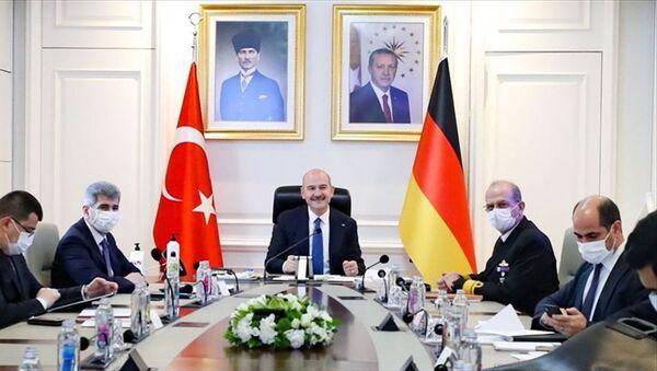 Soylu - Seehofer - Sputnik Türkiye