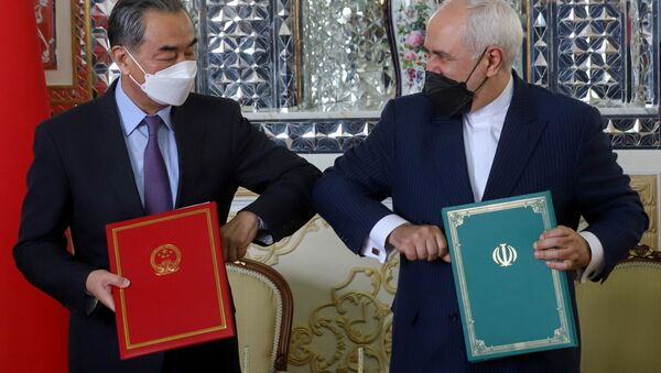 Çin- İran- 25 yıllık anlaşma - Sputnik Türkiye