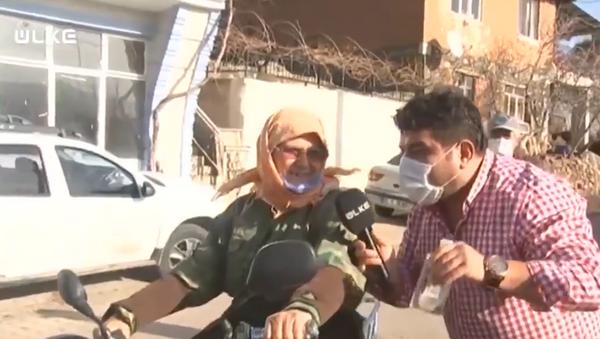 Balıkesir'de 67 yaşındaki kadın, Kenan Sofuoğlu'na meydan okudu - Sputnik Türkiye