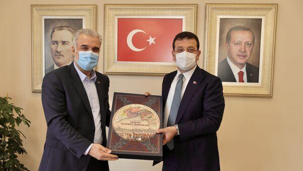 Ekrem İmamoğlu - Osman Nuri Kabaktepe - Sputnik Türkiye
